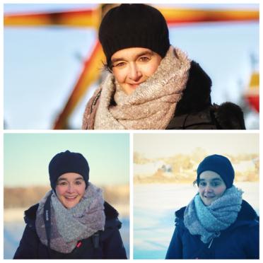 Andrea in Russia